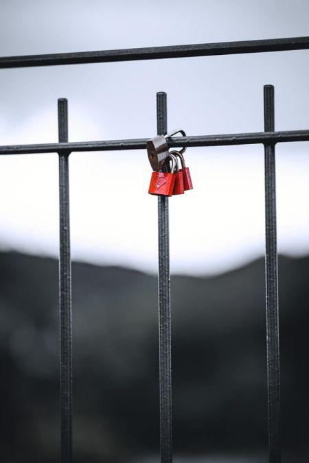 Miłość Castle balustradę mostu Walentynki tradycja Włochy